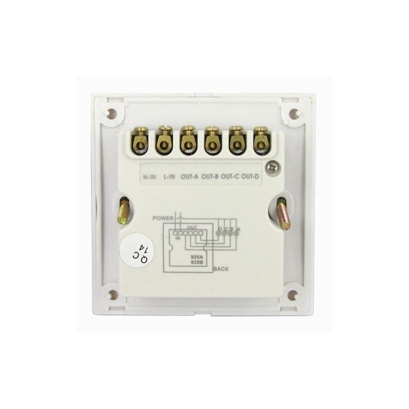 Aкумулаторна преносима лампа - 35 LED -220V / 12V